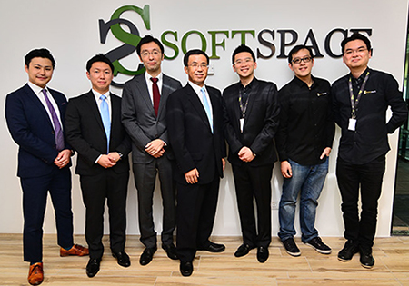 Soft Space Business Alliance With Sumitomo Mitsui Card